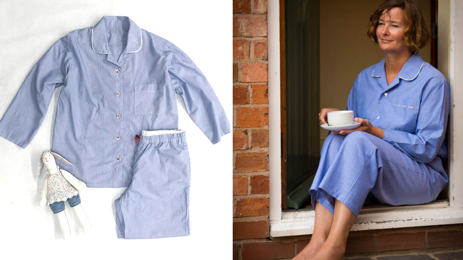 How to sew your own pyjamas
